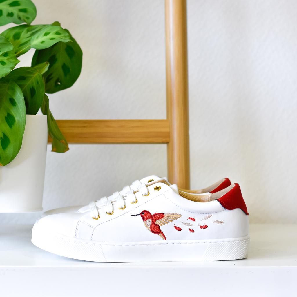 Baskets vegan colibri chaussures d'occasion L'Aurore par